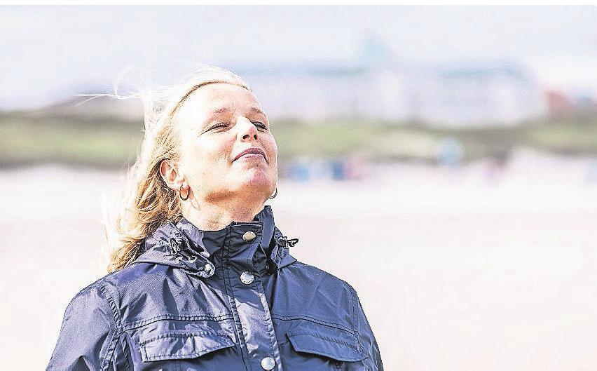 Tief durchatmen und die Stille am Strand genießen. Foto: Lars Wehrmann