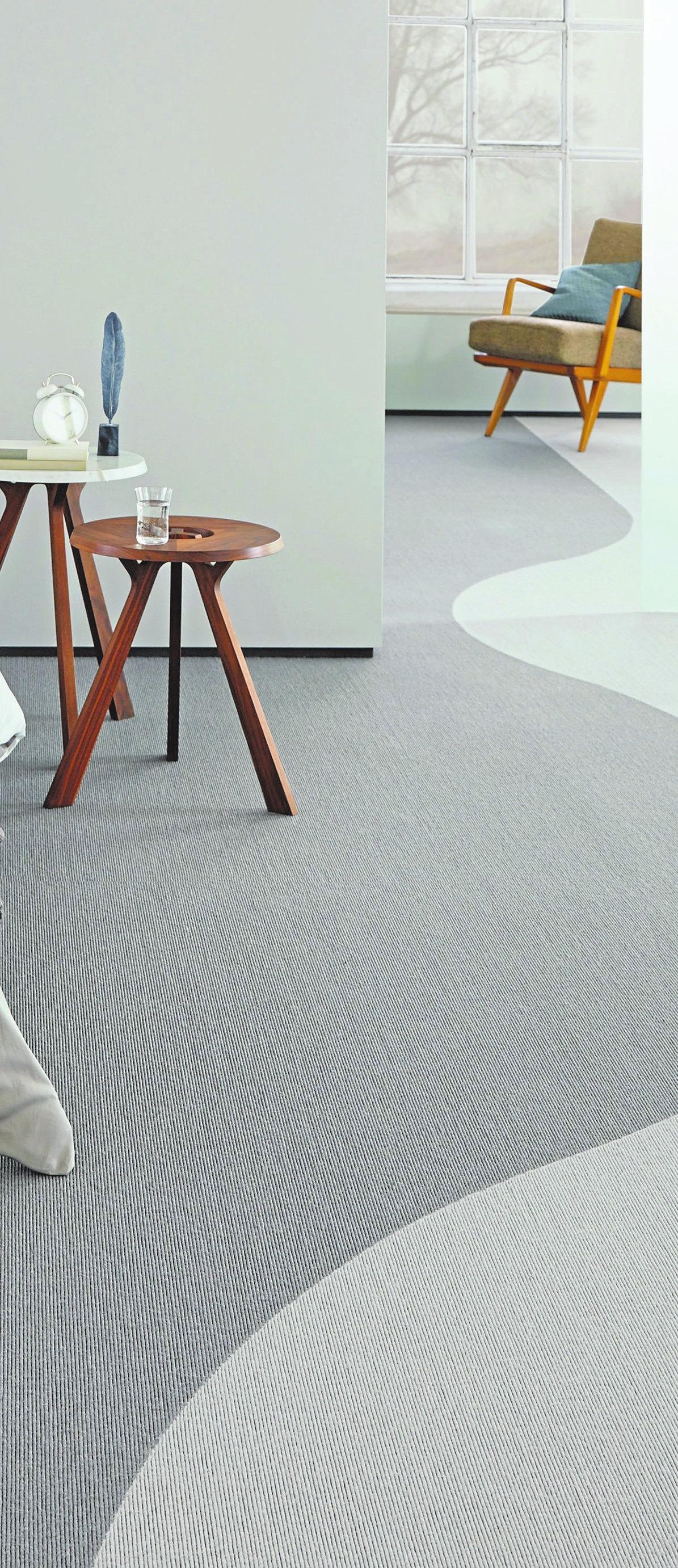 Bodenbeläge mit hohem Kaschmir-Ziegenhaar-Anteil bringen eine Menge Behaglichkeit in den Raum.Foto: tretford/akz-o