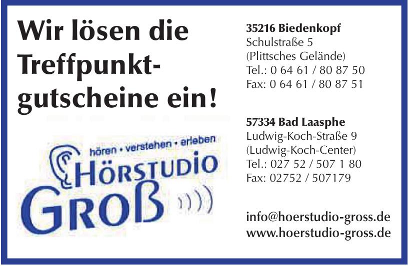 Hörstudio Groß