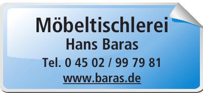 Möbeltischlerei Hans Baras