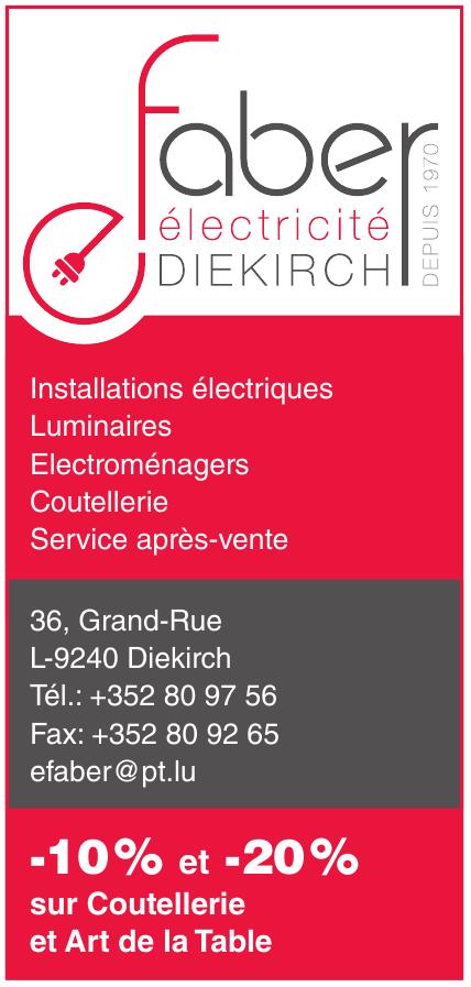 Electricité Faber Diekirch