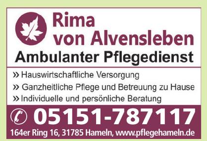 Rima von Alvensleben Ambulanter Pflegedienst