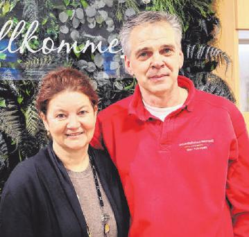 Petra und Thomas Petrogalli leiten das Sanitäts- und Gesundheitshaus Petrogalli.