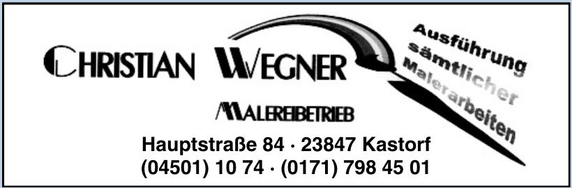 Christian Wegner Malerbetrieb