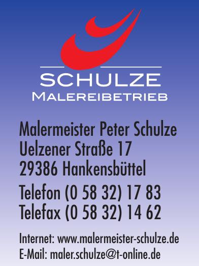Malermeister Peter Schulze