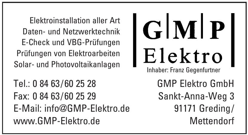 GMP Elektro GmbH