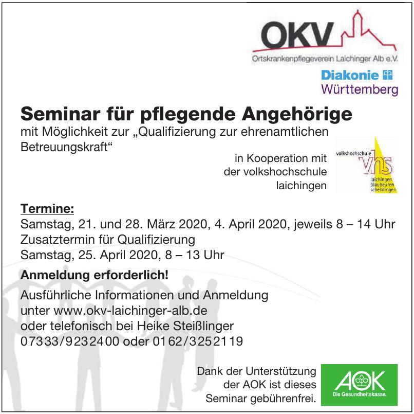 OKV Ortskrankenpflegeverein Laichinger Alb e.V.