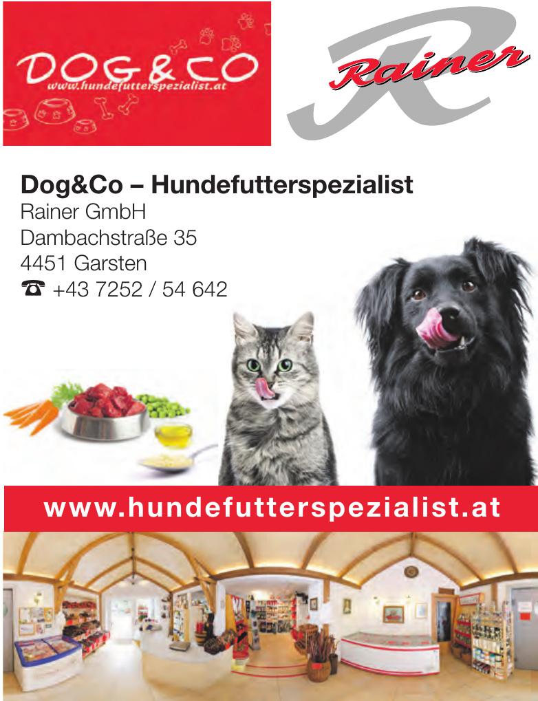 Dog & Co – Hundefutterspezialist Rainer GmbH
