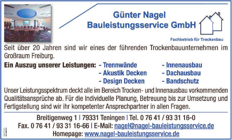 Günter Nagel  Bauleistungsservice GmbH