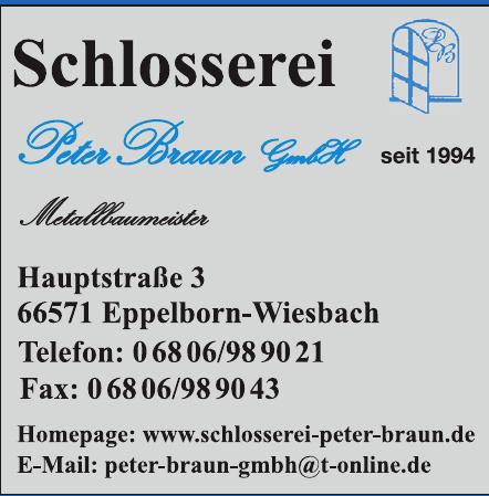 Schlosserei Peter Braun GmbH