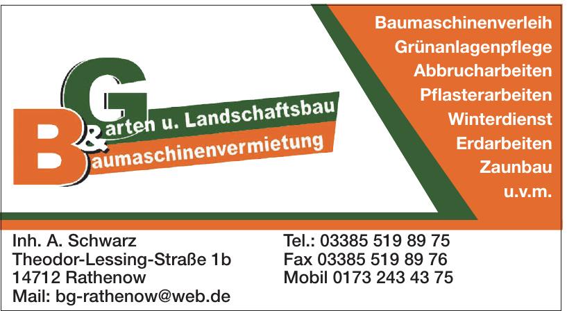 B&G Baumaschinenvermietung & Garten u. Landschaftsbau
