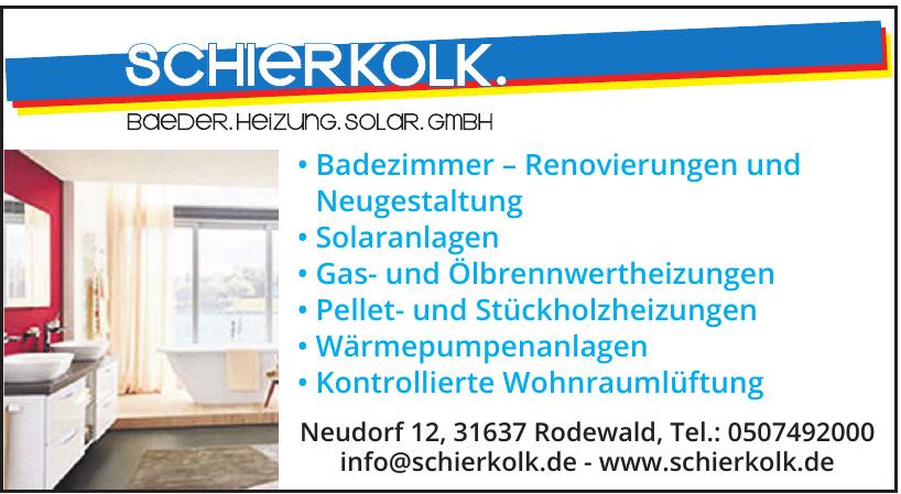 Schierkolk Bäder - Heizung - Solar