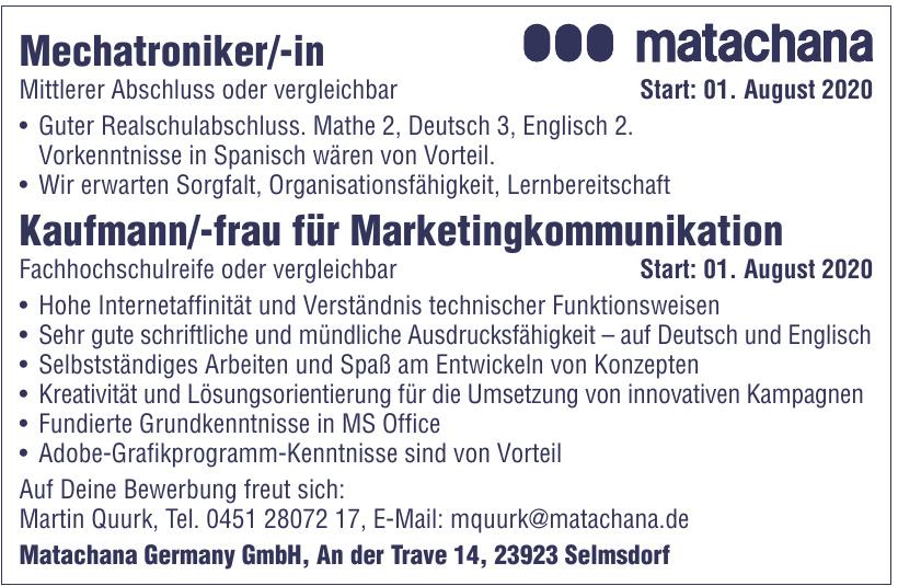 Matachana Germany GmbH