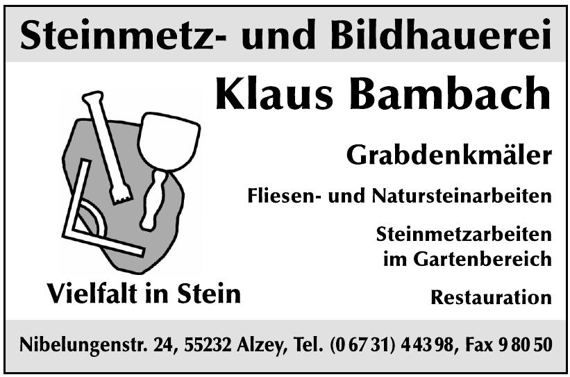 Klaus Bambach