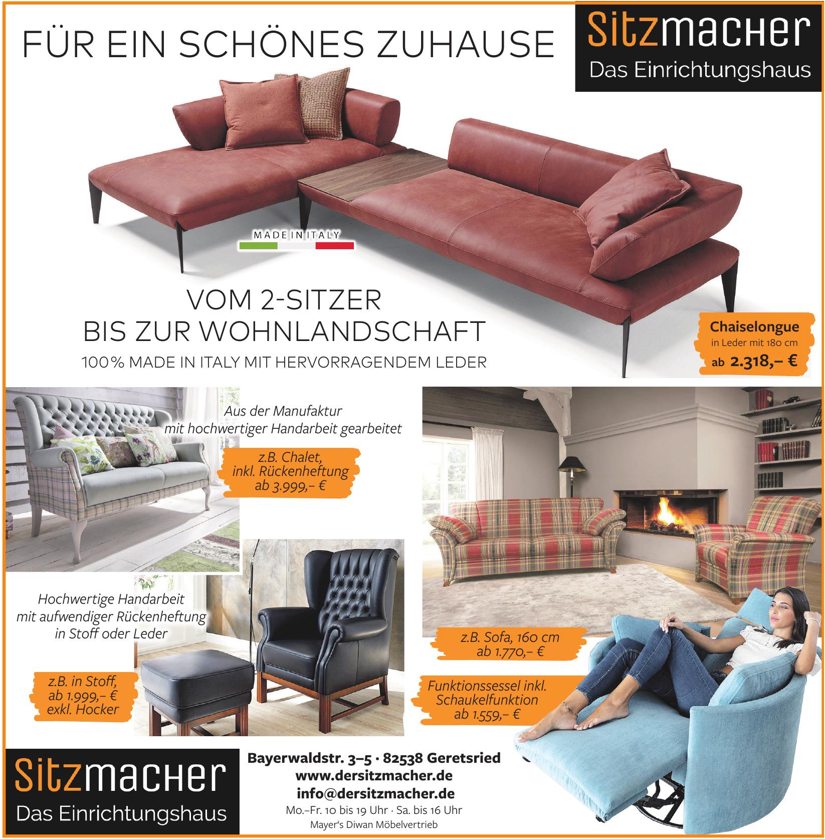 Sitzmacher - Das Einrichtungshaus