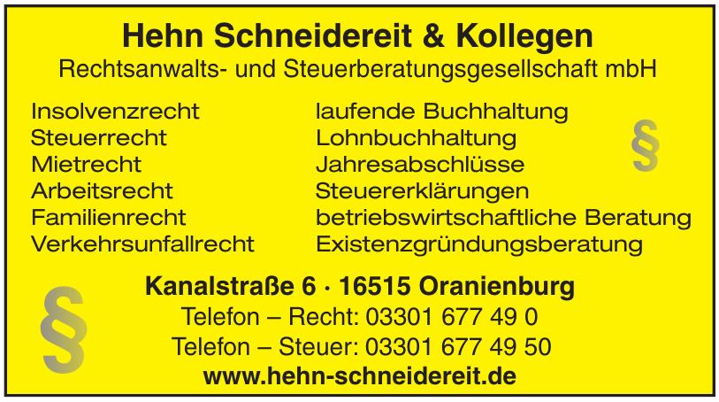 Hehn Schneidereit & Kollegen Rechtsanwalts- und Steuerberatungsgesellschaft mbH