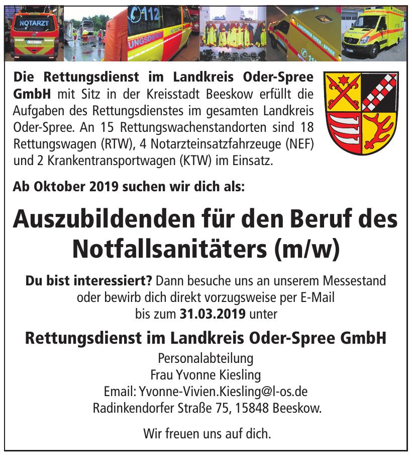 Rettungsdienst im Landkreis Oder-Spree GmbH