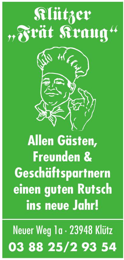 """Klützer """"Frät Kraug"""""""