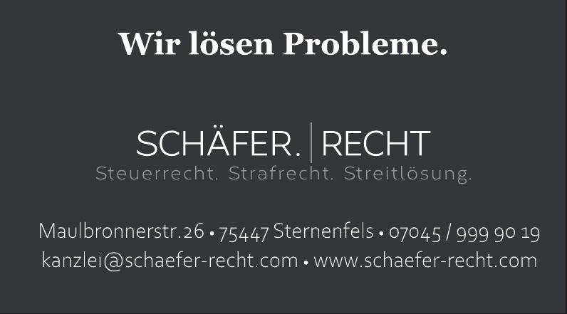 Schäfer.Recht