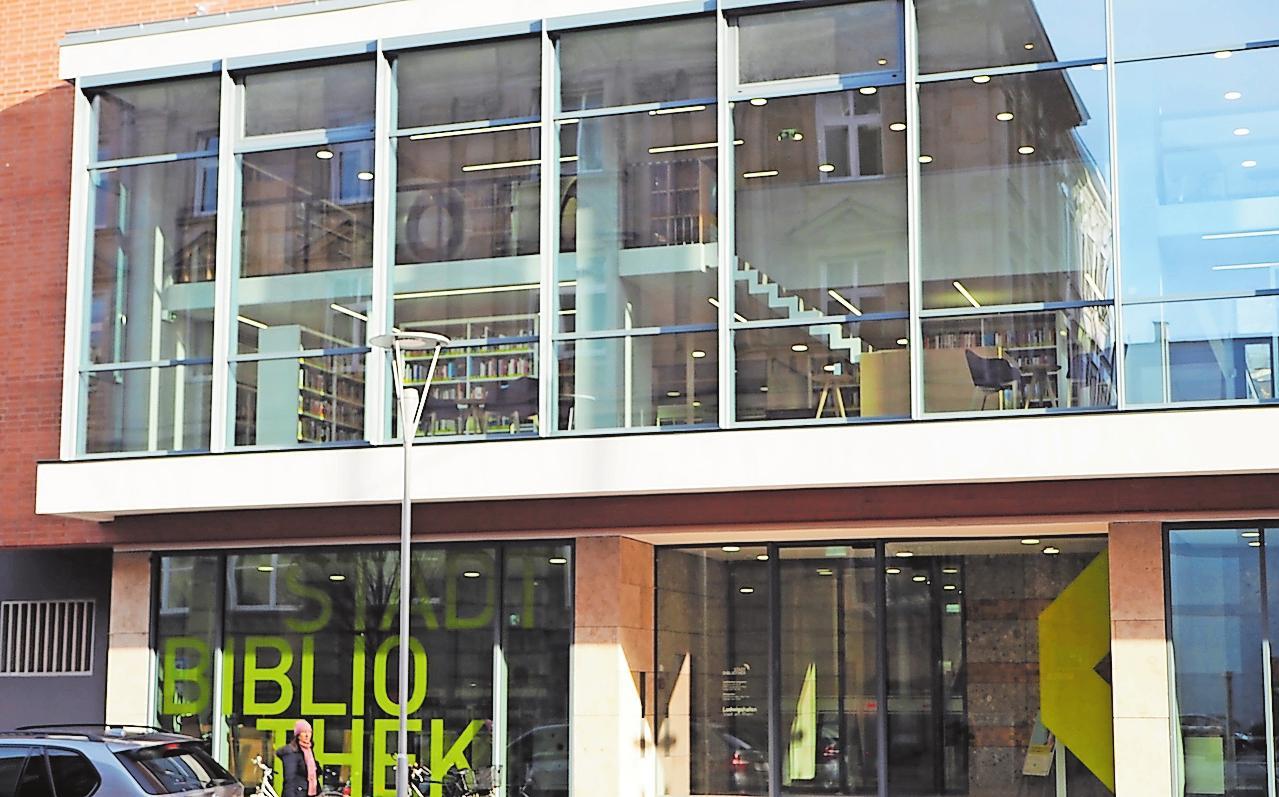 Erstrahlt nach einer aufwendigen Sanierung in neuem Glanz: die Stadtbibliothek. FOTO: STADT LUDWIGSHAFEN/FREI