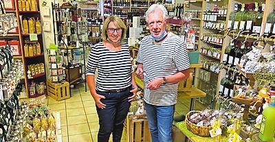 Genussexperten: Dieter Roth und Martina Ewinger von lebensArt. FOTO: VON PERBANDT/FREI