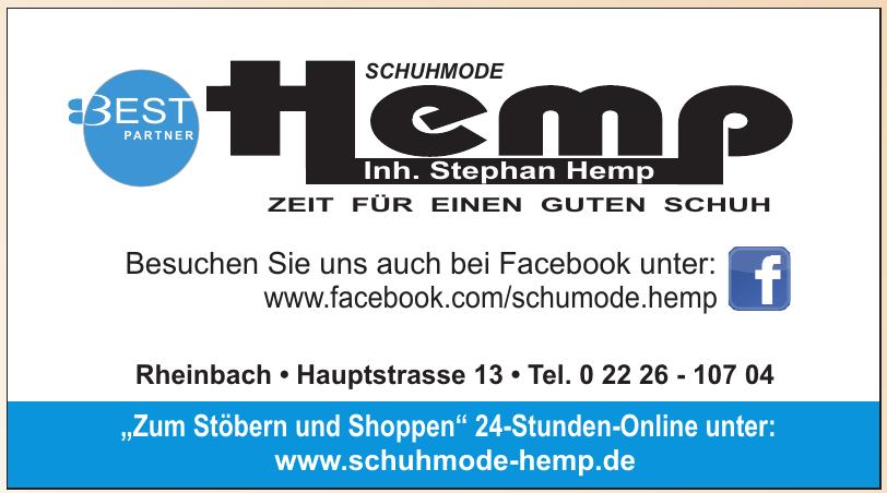 Schuhmode Hemp