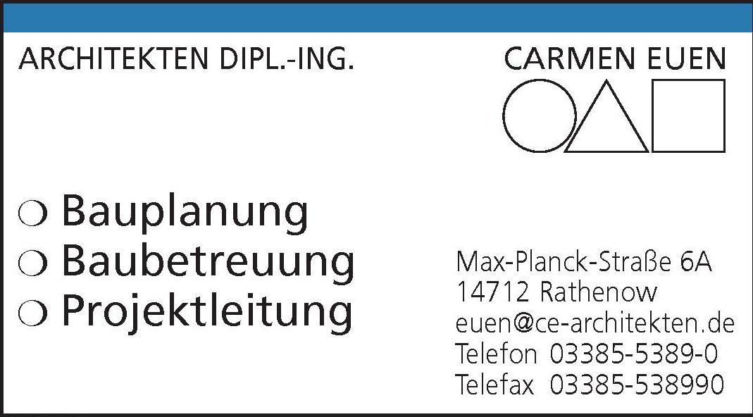 Architekten dipl. -Ing Carmen Euen