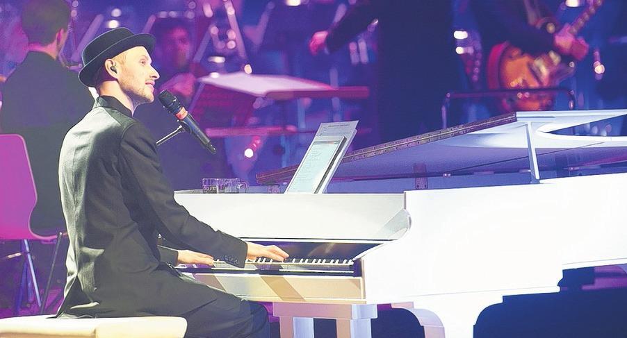 Pianist und Sänger Martin Schmitt haucht den Songs von Udo Jürgens neues Leben ein Foto: wb