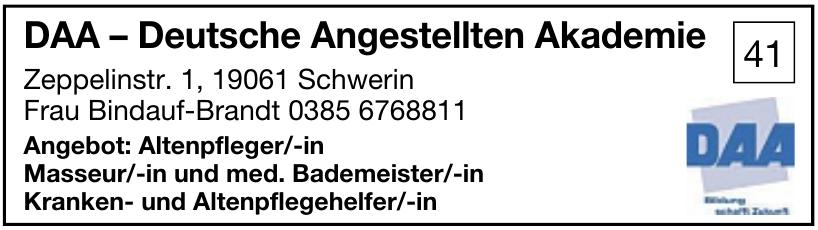 DAA – Deutsche Angestellten Akademie