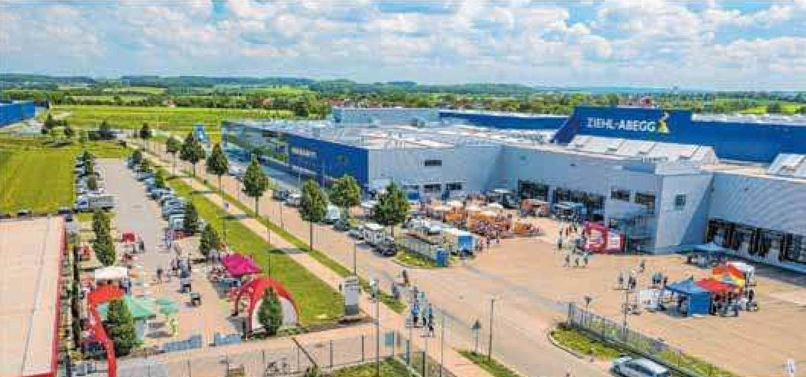 Die Firma belegt die größten Flächen im Gewerbepark Hohenlohe in Waldenburg.Foto: Archiv/Zimmermann