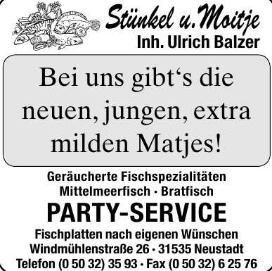 Stünkel u. Moitje Party-Service
