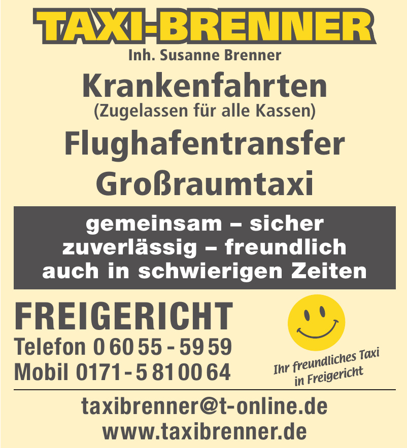 Taxi-Brenner