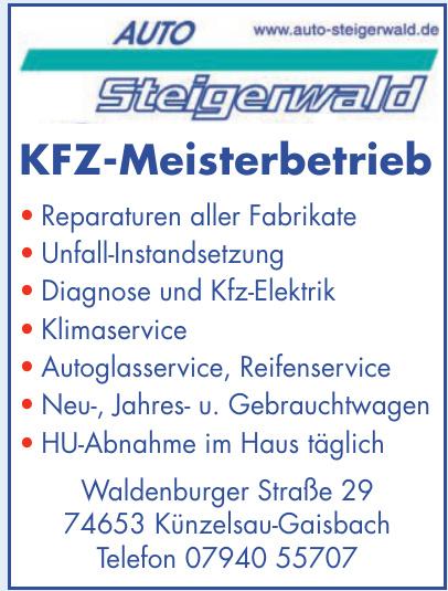Auto Steigerwald