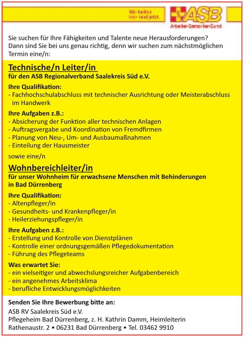 ASB RV Saalekreis Süd e.V.