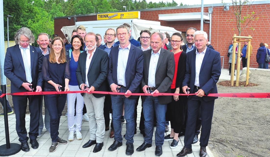 Der Rat der Stadt Wolfsburg brachte den Kita-Neubau der St.-Petrus-Gemeinde auf den Weg. Die Eichendorff-Schule darf nach Beschluss jetzt mehr als 30 Eröffnung des neuen Funktionsgebäudes in Barnstorf 2018. Die Kosten: 1,8 Millionen Euro. Foto: of