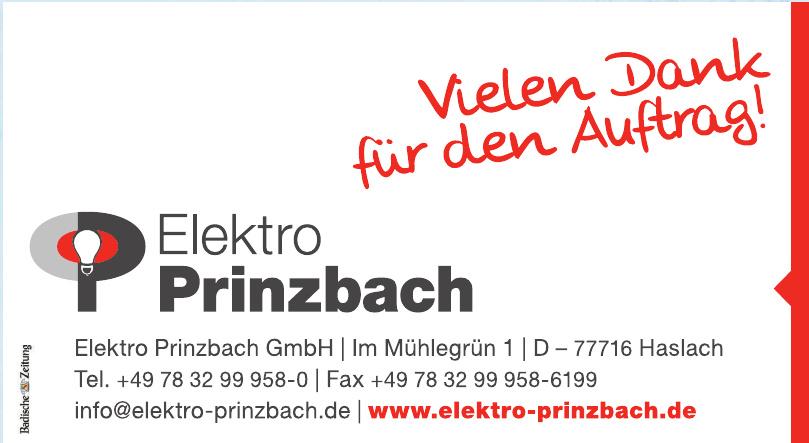 Elektro Prinzbach GmbH