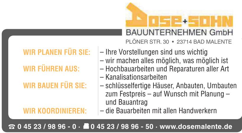 Dose+Sohn Bauunternehmen GmbH
