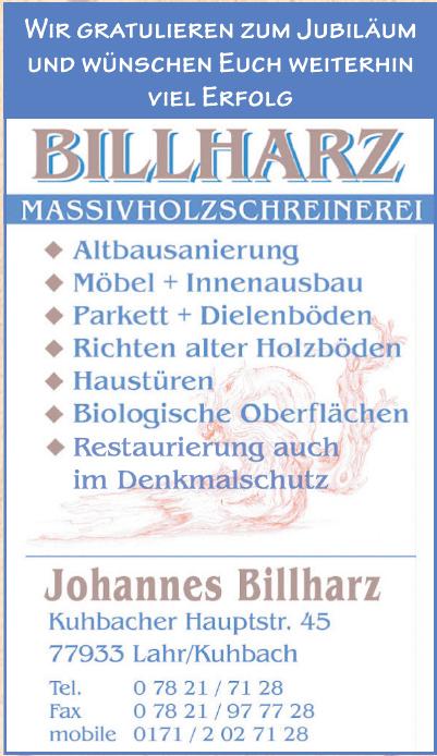 Johannes Billharz