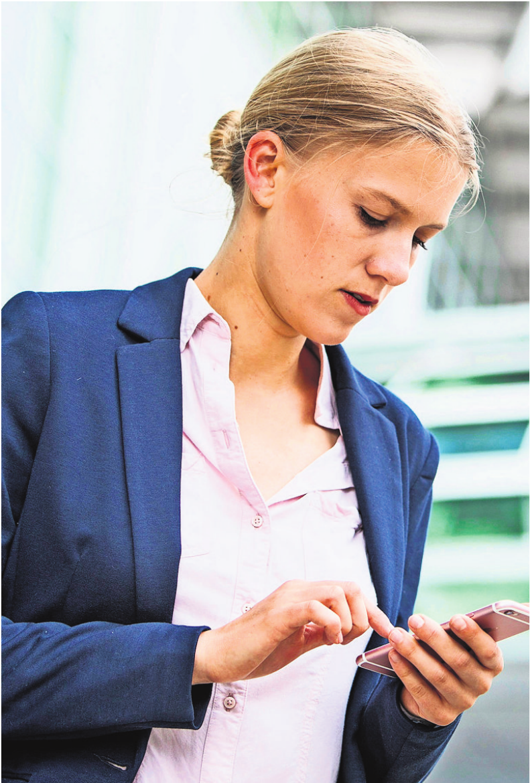 Per App zum neuen Job? Foto:z/dpa-tmn/Christin Klose
