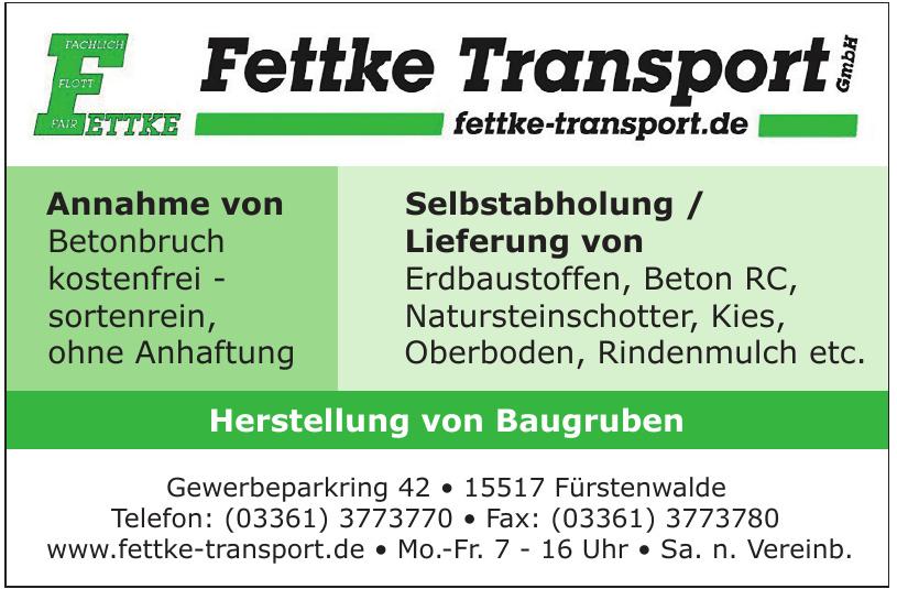 Fettke Transport GmbH