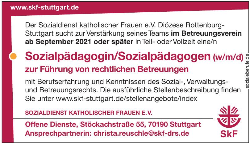 Sozialdienst Katholischer Frauen e. V.