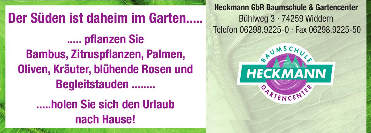 Heckmann GbR Baumschule & Gartencenter