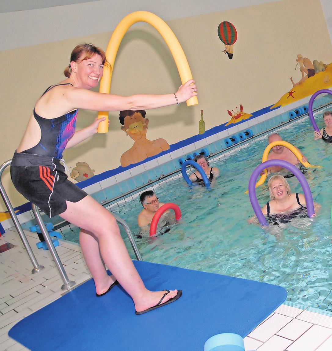 Für mehr Rückengesundheit: Die Wassergymnastik beim Kneipp-Verein ist sehr gefragt. YVONNE DROSTE