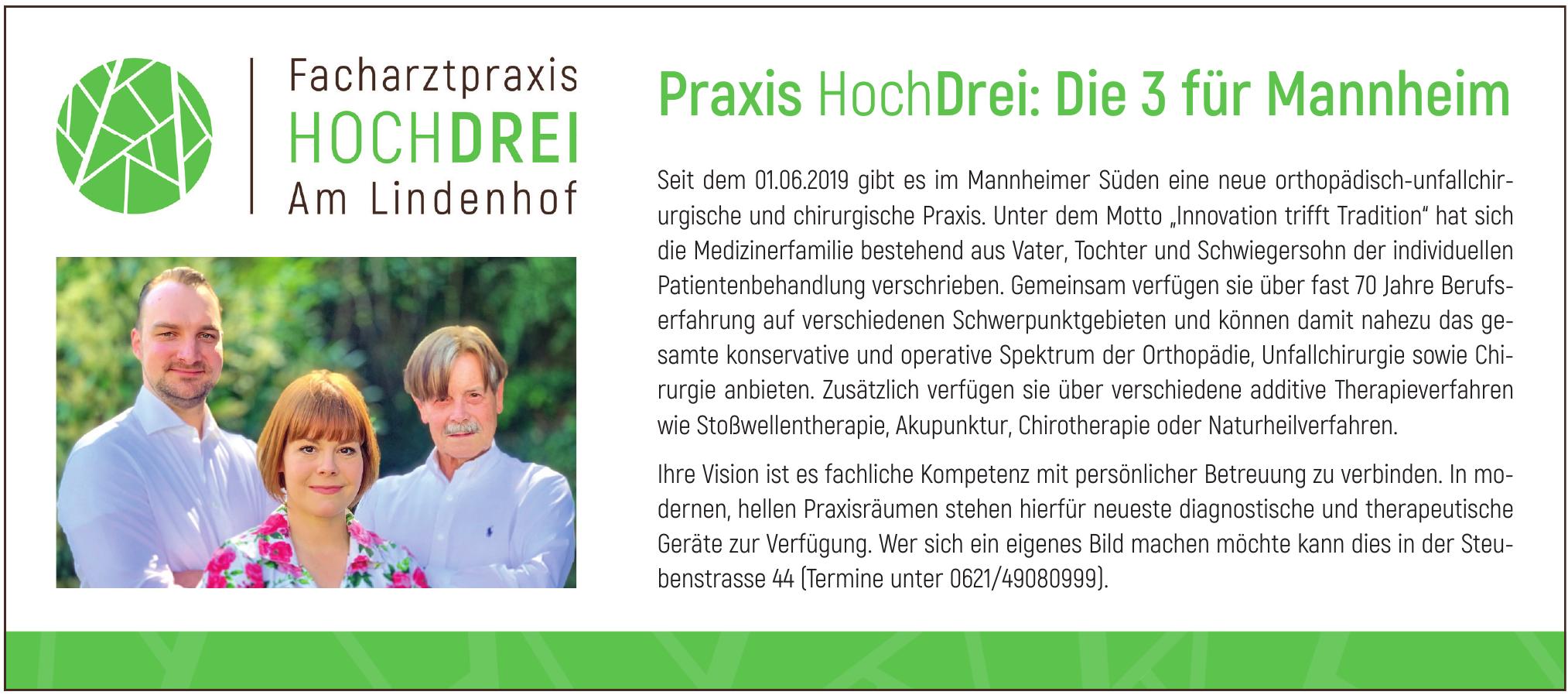 Facharztpraxis Hochdrei Am Lindenhof