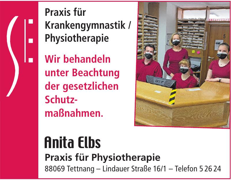 Anita Elbs Praxis für Physiotherapie