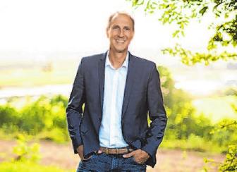 Seit 2008 ist Christoph Schmid Bürgermeister seines Heimatortes Alerheim. Foto: Eva Weißgeber-Braun (herzblut-studio)