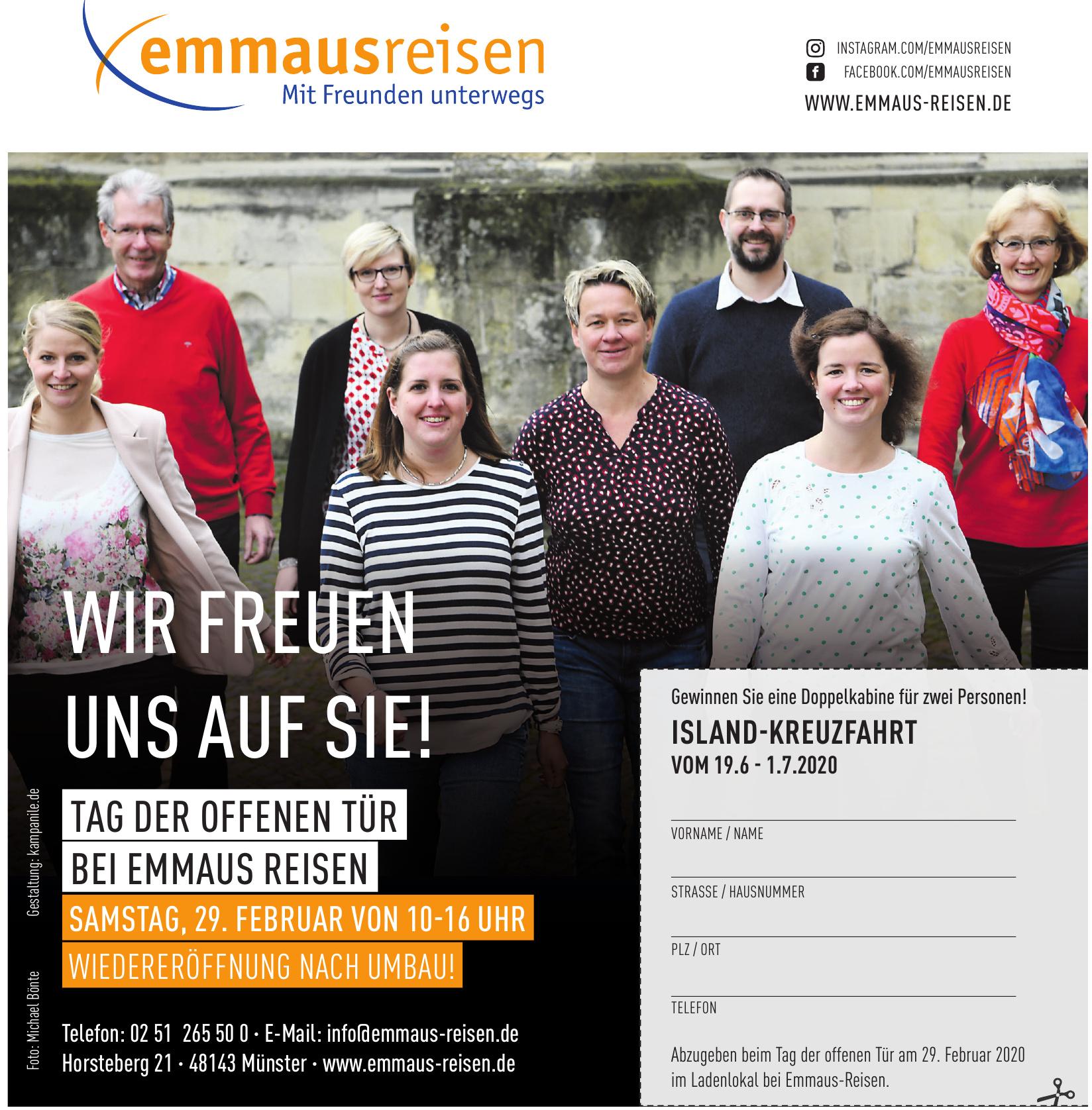 Emmaus Reisen
