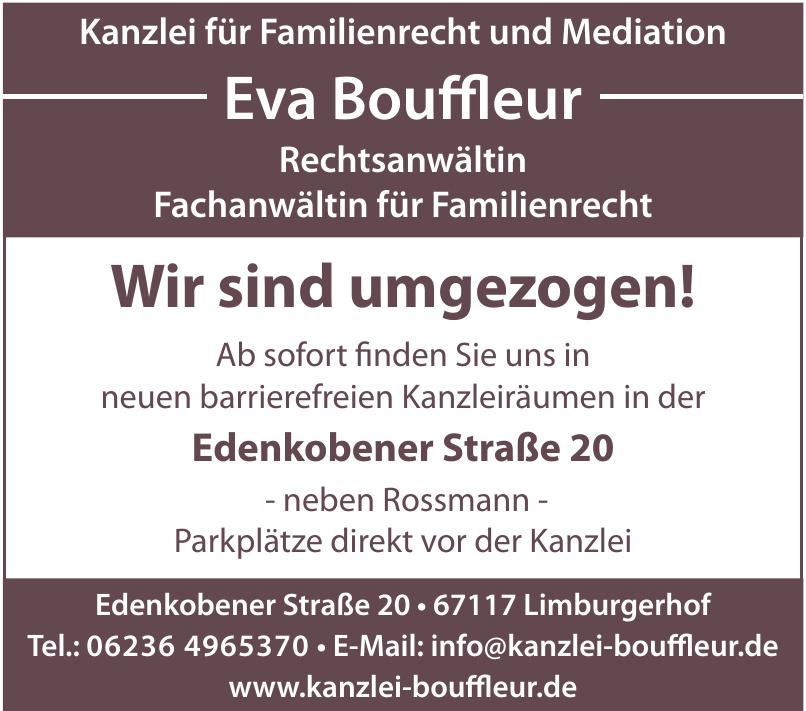 Eva Bouffleur Rechtsanwältin Fachanwältin für Familienrecht