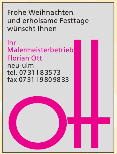 Malermeisterbetrieb Florian Ott