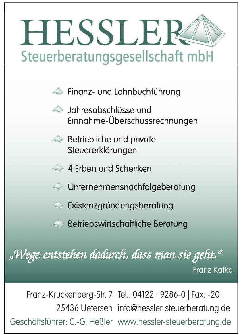 HESSLER Steuerberatungsgesellschaft mbH
